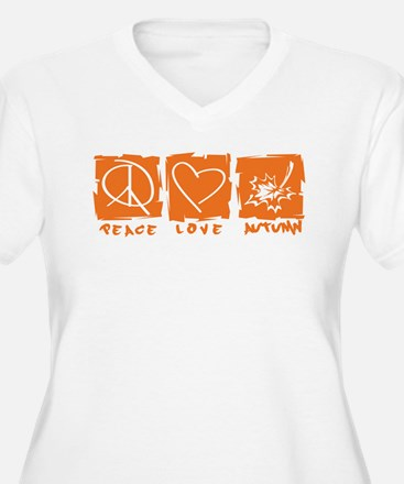 Peace.Love.Autumn T-Shirt