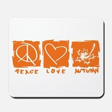 Peace.Love.Autumn Mousepad