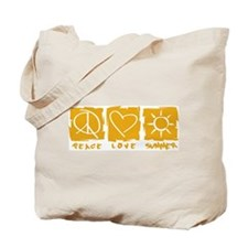 Peace.Love.Summer Tote Bag