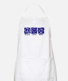 Peace.Love.Music Apron