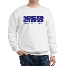 Peace.Love.Music Sweatshirt
