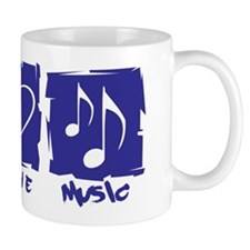 Peace.Love.Music Mug