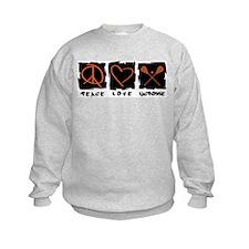 Peace.Love.Lacrosse Sweatshirt