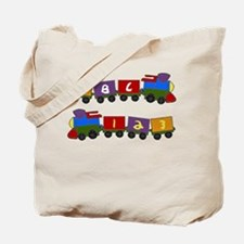 Learning Train Tote Bag