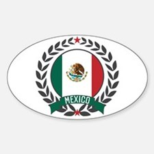 Mexico Wreath Decal