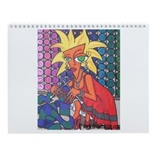 Mad About Knitting Wall Calendar