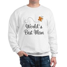 Cute Worlds Best Mom Sweatshirt