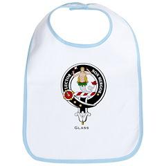 Glass Clan Crest Badge Bib