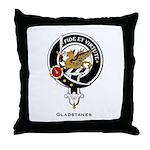 Gladstanes Clan Crest Throw Pillow