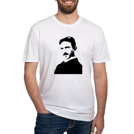 Nikola Tesla Fitted T-Shirt