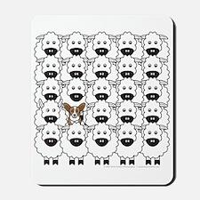 Cardie in Sheep Mousepad