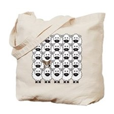 Cardie in Sheep Tote Bag