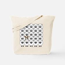 Cardie in Sheep Tote Bag