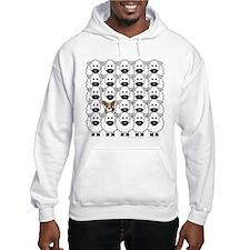 Cardie in Sheep Hoodie Sweatshirt