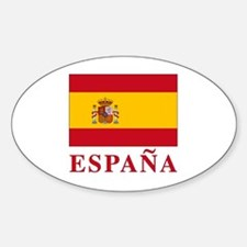 Espana Sticker (Oval)