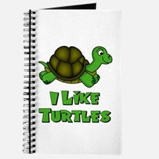 I Like Turtles Journal