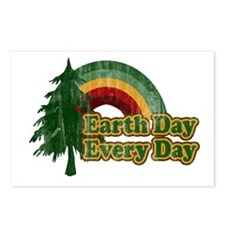 Earth Day Every Day Retro Postcards (Package of 8)