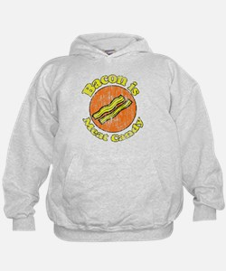 Vintage Bacon is Meat Candy Hoodie