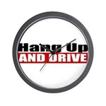 Hang Up And Drive Wall Clock