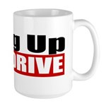 Hang Up And Drive Large Mug