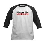 Hang Up And Drive Kids Baseball Jersey
