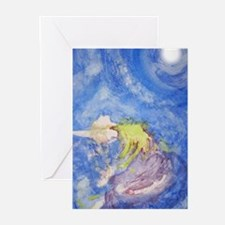 Funny Moon dance Greeting Cards (Pk of 10)