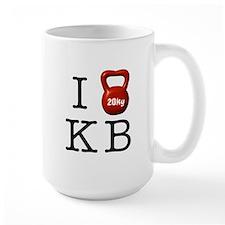 I <3 KB Ceramic Mugs