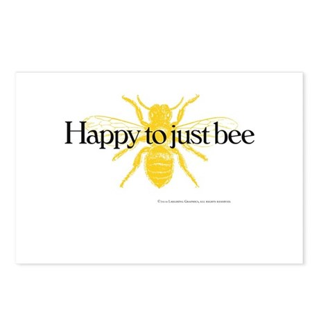 Just Bee Postcards (Package of 8)