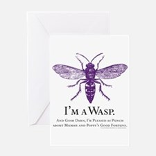 W.A.S.P. Greeting Card