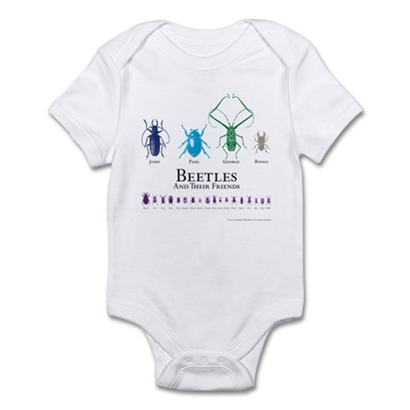 Beetles Infant Bodysuit