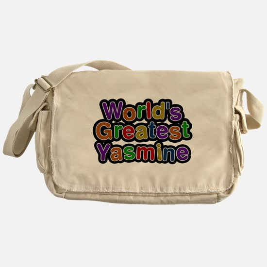 Worlds Greatest Yasmine Messenger Bag