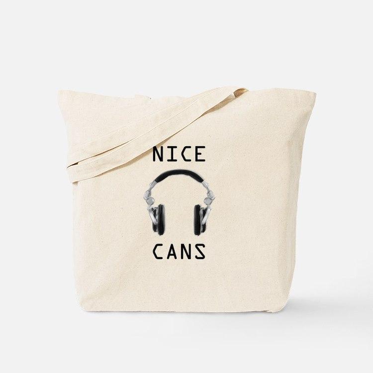Cute Recording engineers Tote Bag