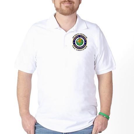 FAA Certified Air Traffic Controller Golf Shirt