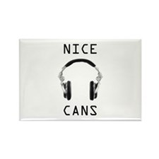 Cute Audio recording Rectangle Magnet (100 pack)