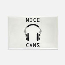 Cute Audio engineer Rectangle Magnet (100 pack)