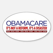 Obamacare Disaster Decal