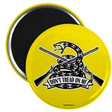 """Don't Tread on Me - Rifles 2.25"""" Magnet (10 pack)"""