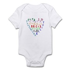 Scrubs Characters Heart Infant Bodysuit
