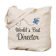 Best Director Butterfly Tote Bag