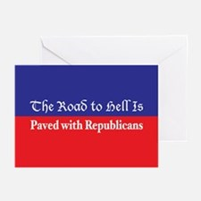 Road to Hell Greeting Cards (Pk of 10)