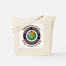 FAA Certified Seaplane Pilot Tote Bag