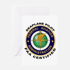 FAA Certified Seaplane Pilot Greeting Card