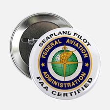"FAA Certified Seaplane Pilot 2.25"" Button"