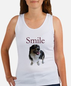 Smiling Dog Women's Tank Top