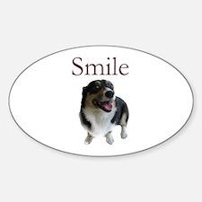 Smiling Dog Decal