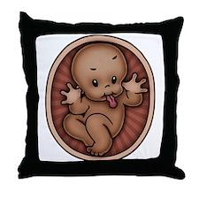 Razz Baby -DS Throw Pillow