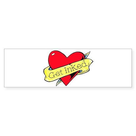 Get Inked Sticker (Bumper)