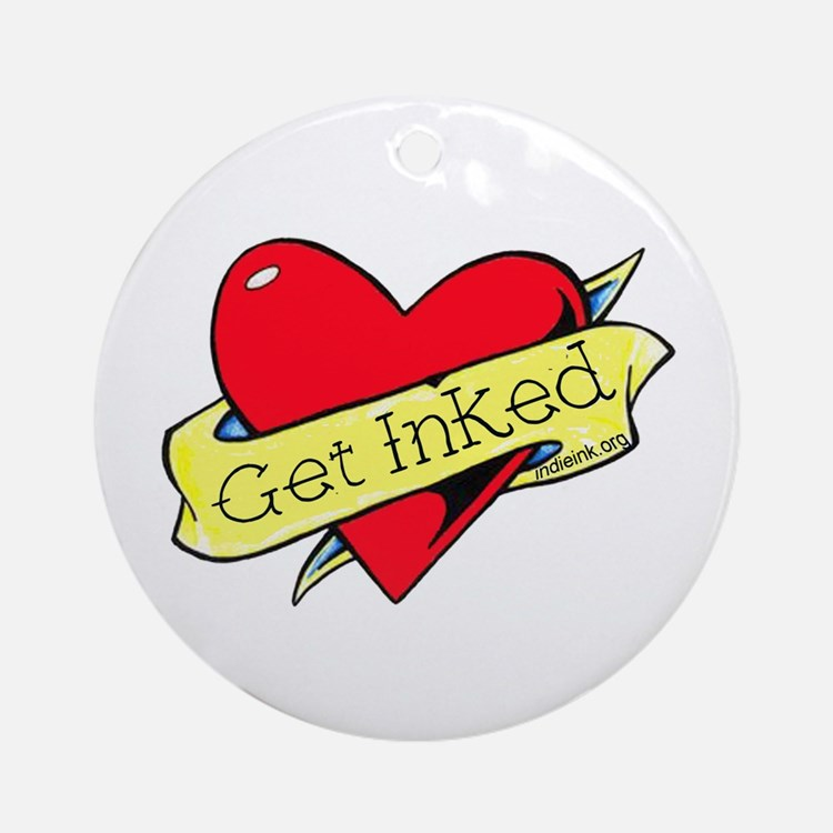 Get Inked Ornament (Round)