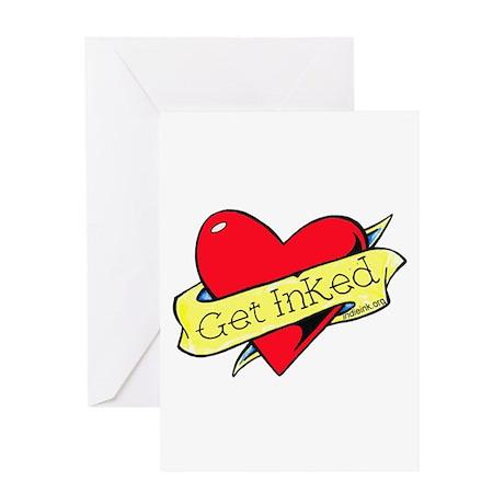 Get Inked Greeting Card