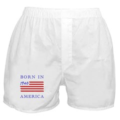 1940 Born In America Boxer Shorts